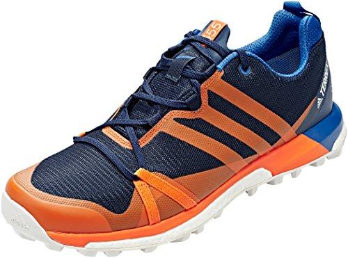 new product 10b7e e6252 adidas Herren Terrex Agravic GTX Trekking-  Wanderhalbschuhe, Blau  Maruni Naranj Belazu 000, 40 2 3 EU